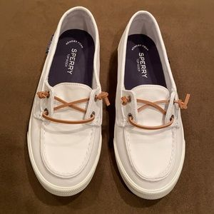 NWOT Sperry Canvas Slip On Shoes